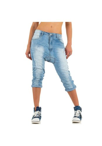 Markenlos Damen Jeans von Place Du Jour - blue