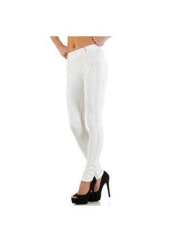 JCL Dames broek van Jcl - wit