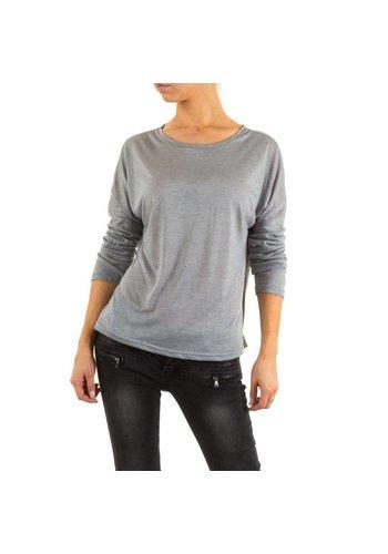 JCL Shirt pour femmes par  Jcl - gris