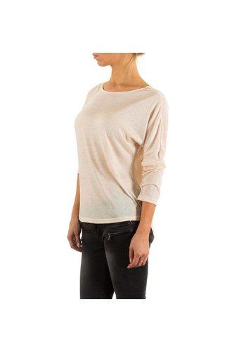 JCL Shirt pour femmes par  Jcl - Crème