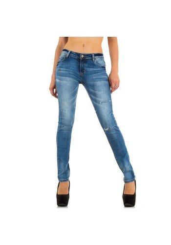 Lantis Damen Jeans von Lantis - blue