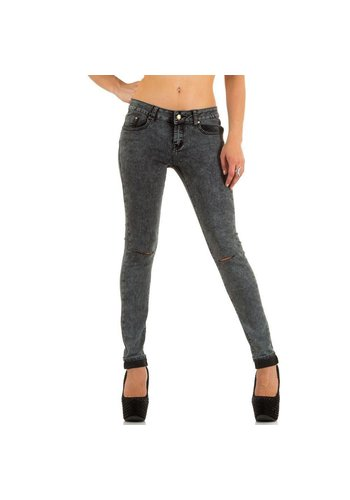 Simply Chic Dames Jeans van Simply Chic - Grijs