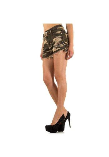 Laulia Short pour femmes par Laulia - Vert militaire