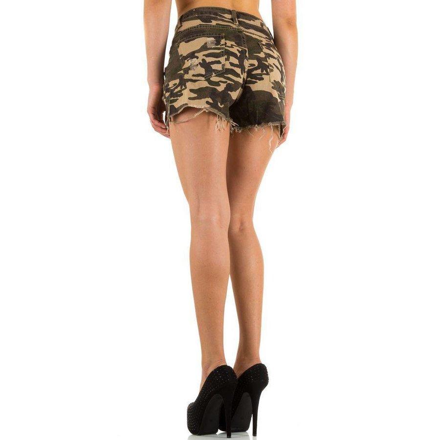 Damen Shorts von Laulia - armygreen