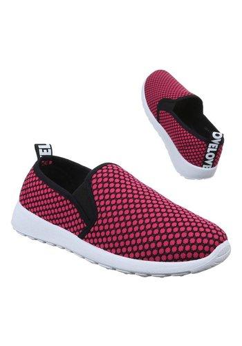 Neckermann Dames Sneakers - fuchsia