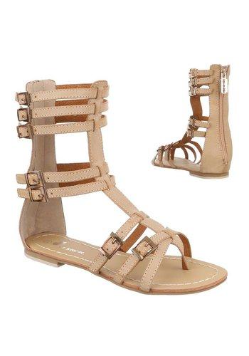 Neckermann Damen Sandaletten - camel