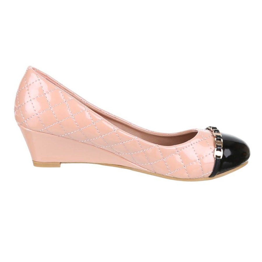 Damen Keilabsatz - pink