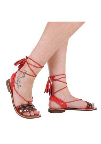 Neckermann Damen Sandaletten - red