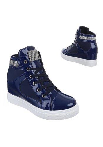 JULIET Dames sneakers Donker Blauw