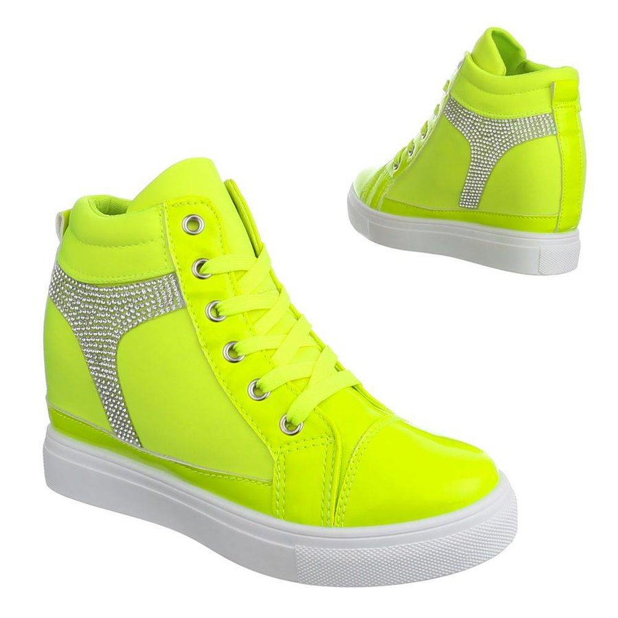 Baskets pour femmes- Vert