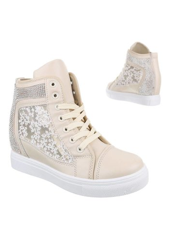 JULIET Dames Sneakers Apricot