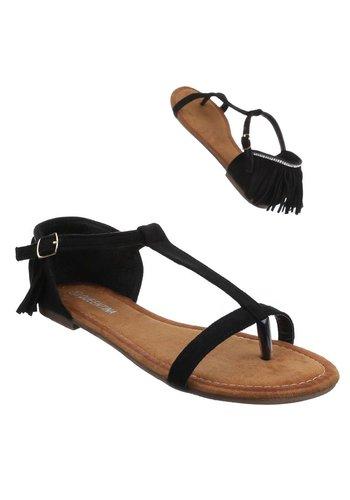 Neckermann Sandales pour femmes- Noir