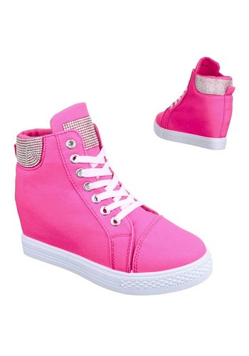 SDS Dames Sneakers- Fuchsia