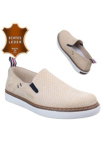 Neckermann Chaussures décontractées en cuir - beige
