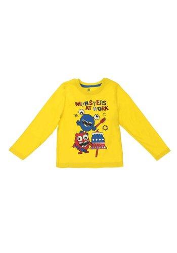 Lupilu Kinder sweater van Lupilu - geel