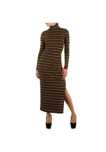 RINASCIMENTO Damen Kleid von Rinascimento  - senf