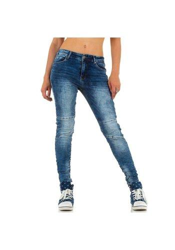 Smagli Damen Jeans von Smagli - blue