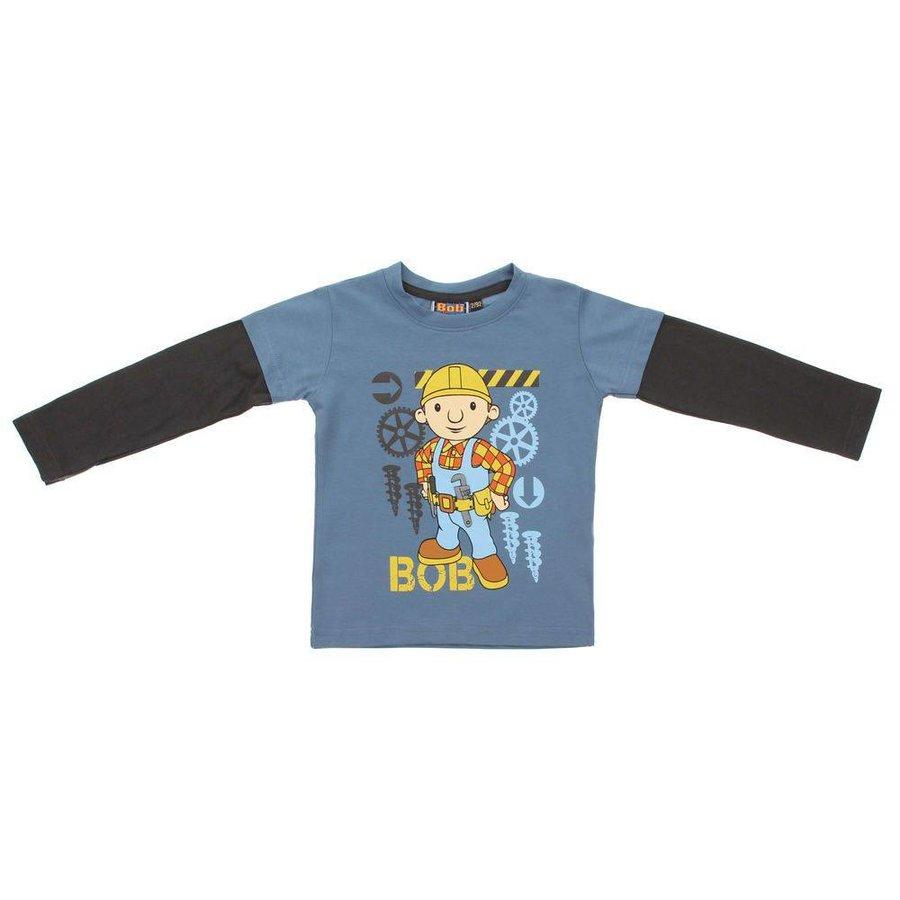Kinder Langarmshirt - grey