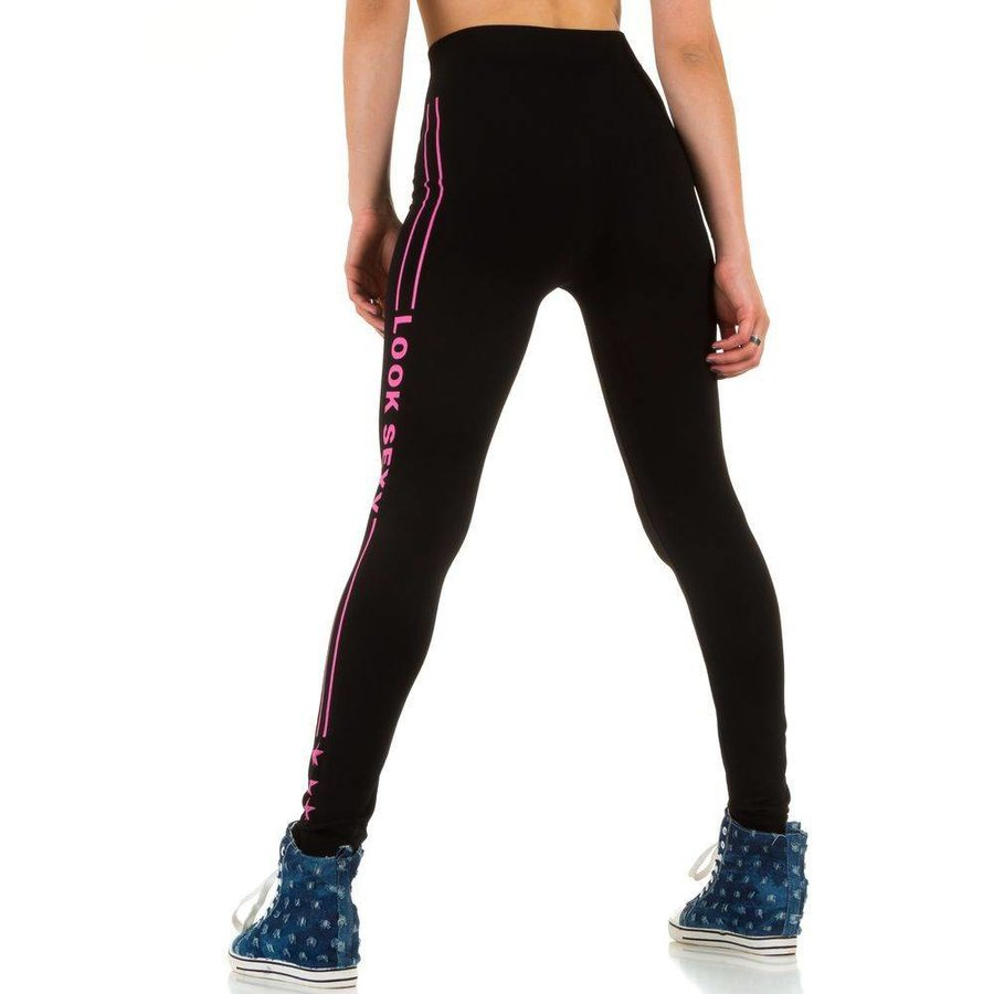 Damen Leggings von Best Fashion Gr. one size - pink