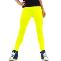 Dames legging van Best Fashion Gr. one size - neon geel