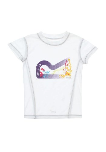 Neckermann Kinder T-Shirt van Regatta - wit