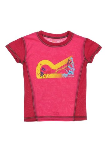 Neckermann Kinder T-Shirt van Regatta - fuchsia