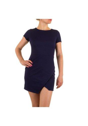 RINASCIMENTO Dames jurk van Rinascimento - donker blauw