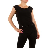 Damen Top von Frank Lyman - black