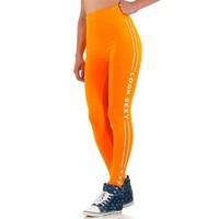 Damen Leggings von Best Fashion Gr. one size - orange