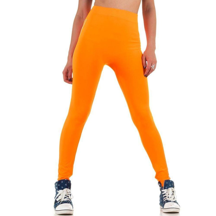 Dames legging van Best Fashion Gr. one size - neon oranje