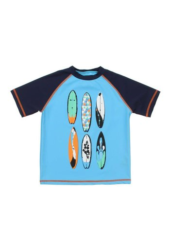 Neckermann Kinder T-Shirt - Blauw