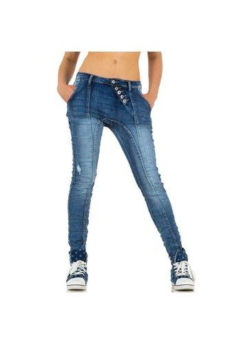PLACE DU JOUR Damen Jeans von Place Du Jour - blau