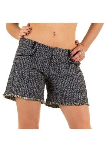 JCL Dames Shorts van Jcl - Grijs