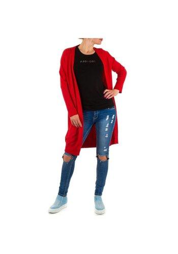 JCL Damen Pullover von Jcl - red