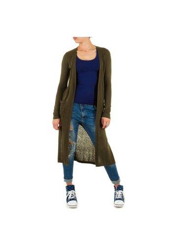 Neckermann Damen Pullover Gr. one size - khaki