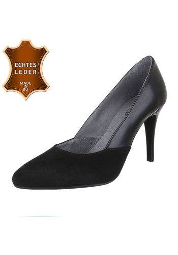 DINAGO SHOES Ladies Pump - cuir noir