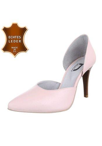 DINAGO SHOES Damen Pumps - pinkes Leder