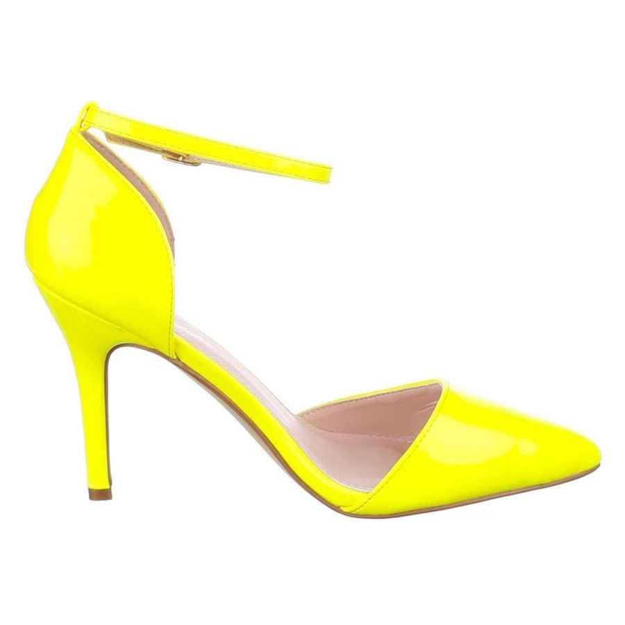 Damen Sandaletten - yellow