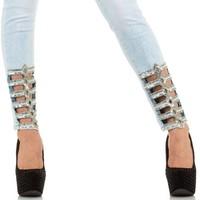 Damen Jeans von Nina Carter - L.blue
