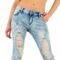 Damen Jeans von Lexxury - blau