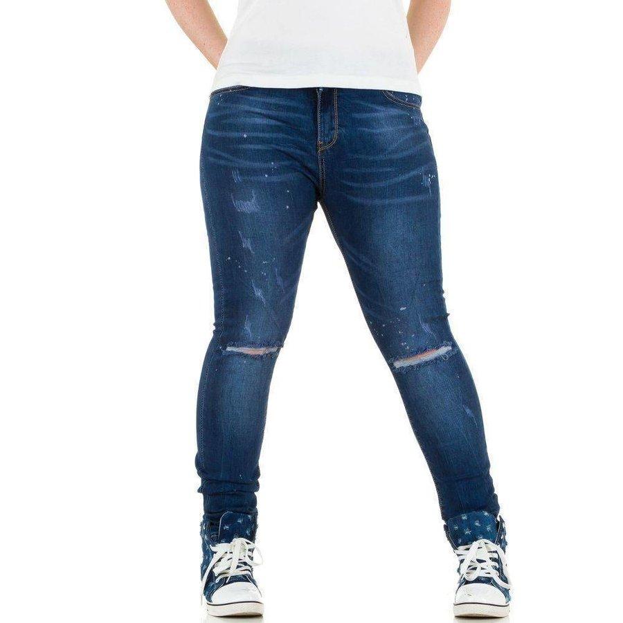 Laulia Damen Jeans - blau