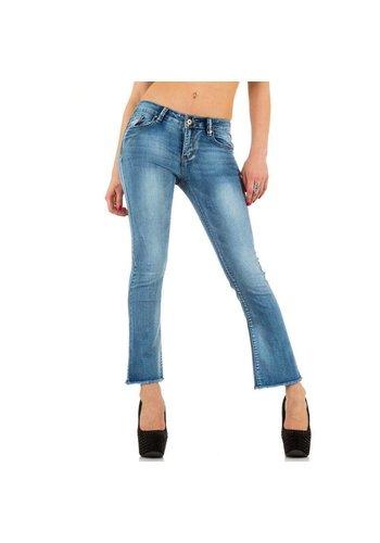 Laulia Laulia Damen Jeans - blau
