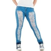 Damen Jeans von Le Lys - hellblau