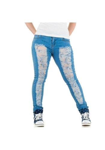 LE LYS Dames Jeans van Le Lys - licht blauw