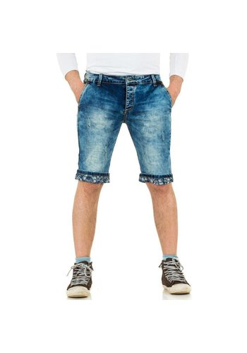 BLACK ACE Heren Shorts van Black Ace - blauw