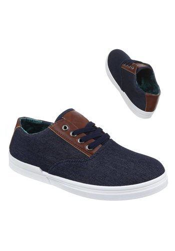 Neckermann Männer Casual Schuhe - navy blau