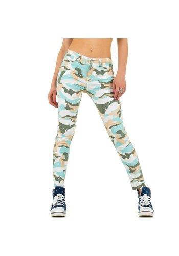 Mozzaar Dames Jeans van Mozzaar - multi