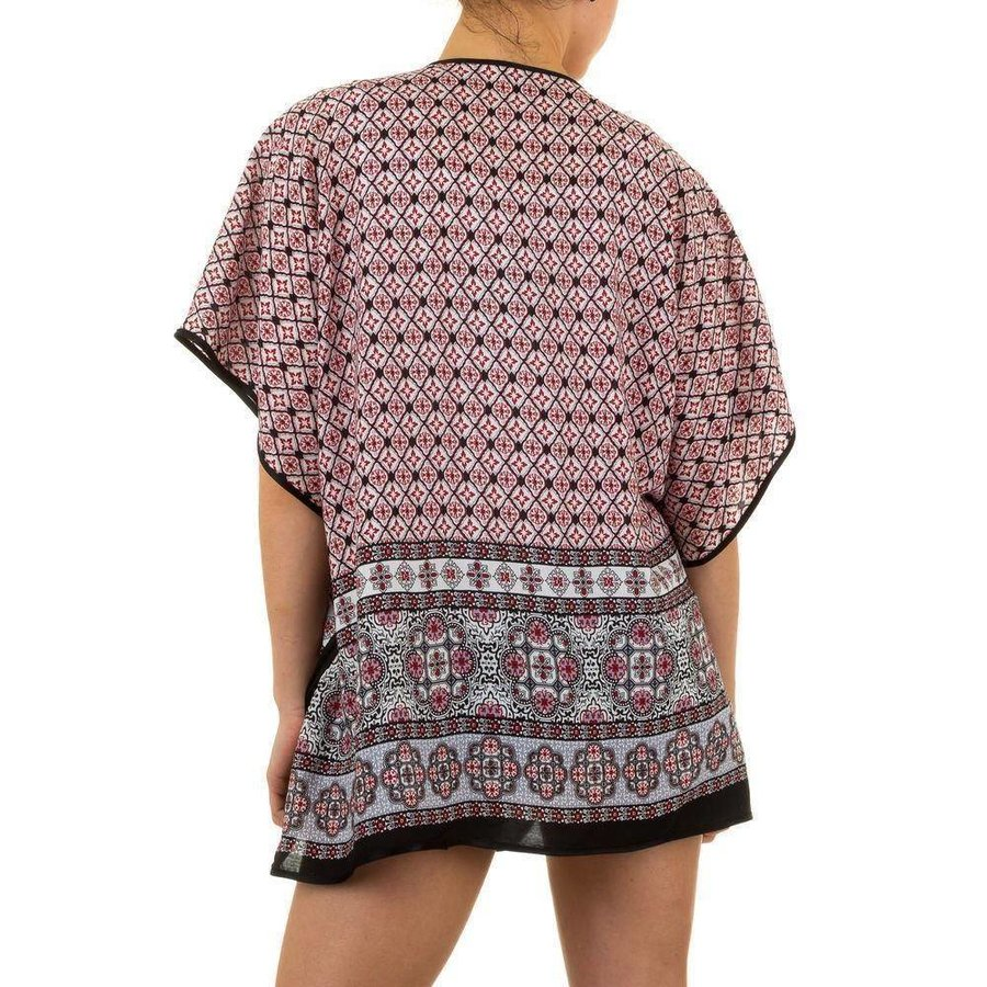 Dames Tunika van Best Fashion Gr. one size - rood
