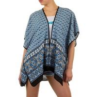 Damen Tunika von Best Fashion Gr. one size - blue