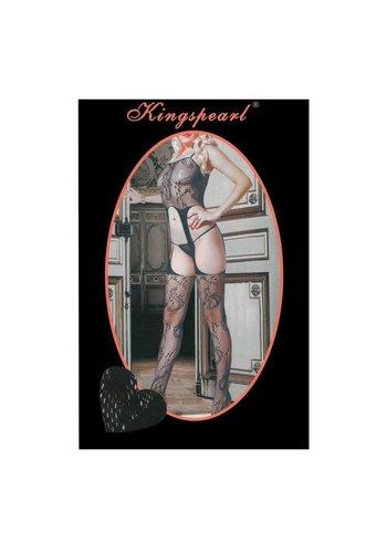 KINGSPEARL Damen Strumpfhose von Kingspearl Gr. one size - black